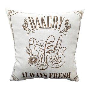 Jordan Manufactoring Accents - 🆕Bakery Always Fresh Outdoor Throw Pillow